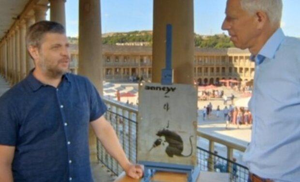Ein Brite versuchte, Banksys gestohlenes Werk in der BBC-Fernsehshow zu verkaufen
