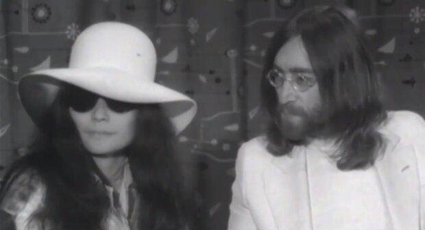 Yoko Ono und John Lennon. Quelle:Screenshot YouTube
