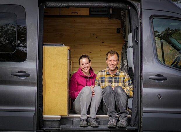 Warum die Ehepartner ein ruhiges Leben gegen eine endlose Reise ausgetauscht haben