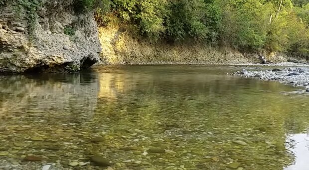 Ein Fluss. Quelle: Screenshot YouTube