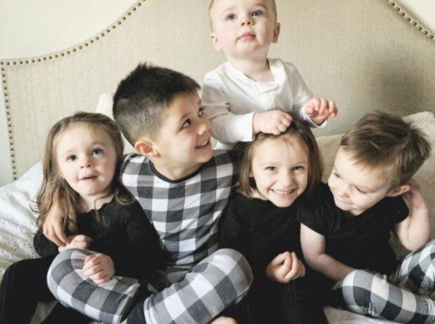 Wie eine junge Familie neun Kinder in drei Jahre bekam