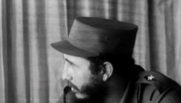 Fidel Castro. Quelle: YouTube Screenshot