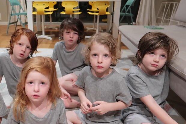 6 Kinder. Quelle: YouTube Screenshot