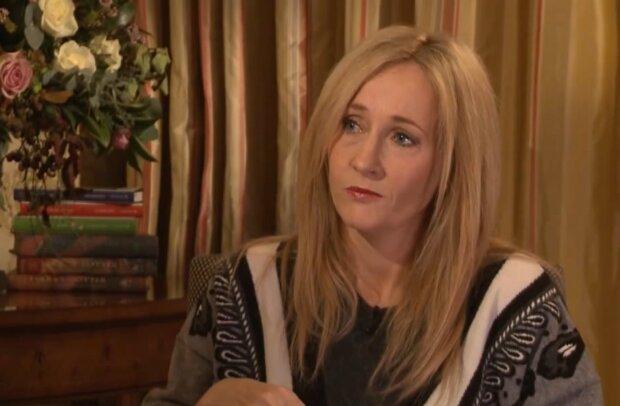 J.K. Rowling. Quelle: YouTube Screenshot