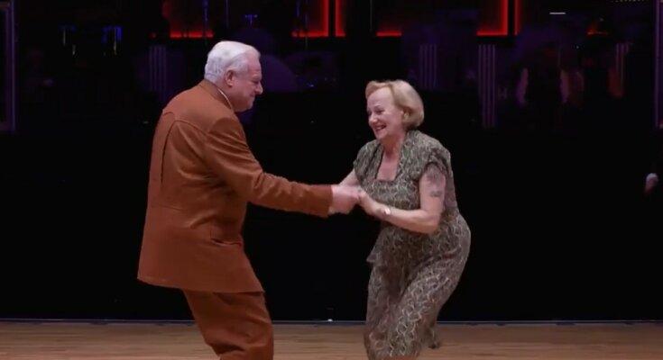 Tanz ist die universelle Sprache aller Altersstufen. Quelle: Screenshot YouTube