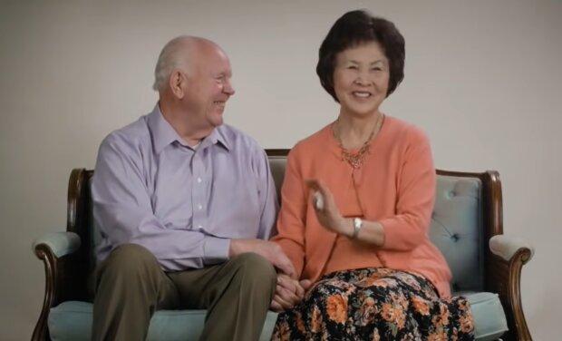 Glückliche Paar. Quelle: YouTube Screenshot
