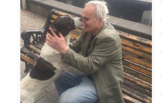 Wie ein Mann einen Hund fand, den er vor drei Jahren verloren hatte
