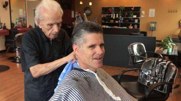 Er arbeitet seit fast 100 Jahren als Friseur: Ein Mann ist 108 Jahre alt und wird nicht in Rente gehen