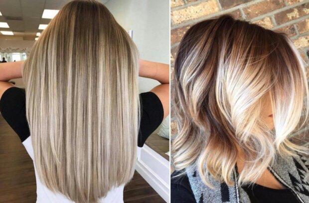 Stylisten präsentierten Platinum Blond: Farbtöne und Frisuren