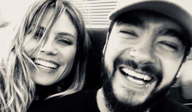 Tom Kaulitz und Heidi Klum. Quelle:Screenshot YouTube