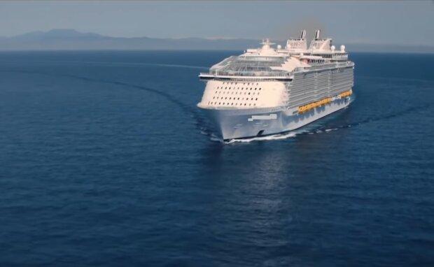 Harmony of the Seas. Quelle: YouTube Screenshot
