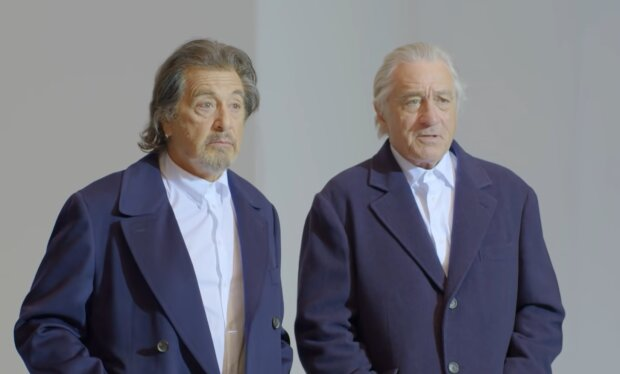 Al Pacino und Robert De Niro. Quelle: Screenshot Youtube