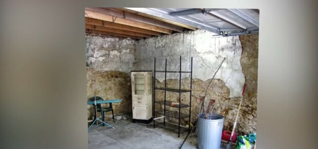 Alte Garage. Quelle: Youtube Screenshot