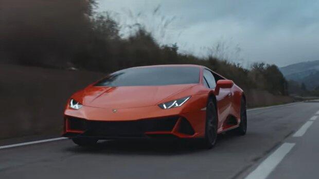 Lamborghini Huracan. Quelle: YouTube Screenshot