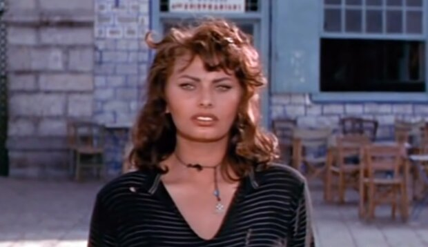 Sophia Loren. Quelle: YouTube Screenshot