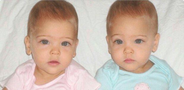 """""""Engelsschönheit"""": Im Alter von 7 Jahren wurden die Mädchen als die schönsten Zwillinge der Welt anerkannt"""