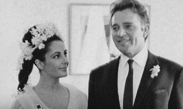 Liz Taylor und Richard Burton. Quelle: Screenshot Youtube
