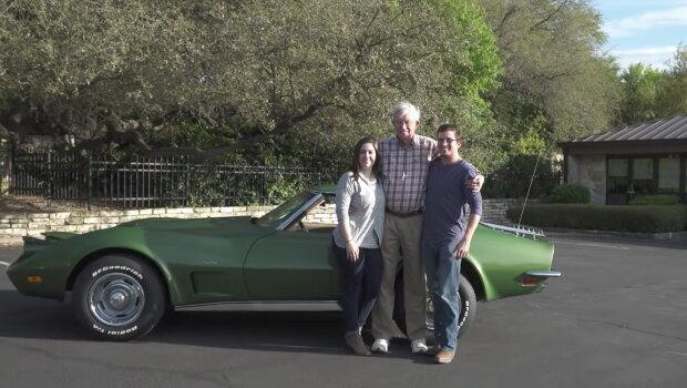 Dave Frace und Familie. Quelle YouTube Screenshot