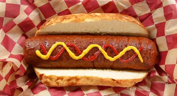 Riesen-Hotdog. Quelle: bigpicture.com