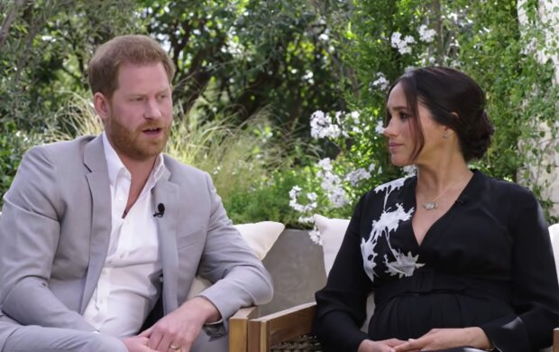Prince Harry and Meghan Markle. Quelle: YouTube Screenshot