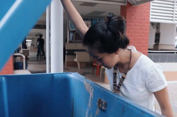 Auf der Suche nach Dingen in einem gepflegten Zustand. Quelle: Screenshot YouTube