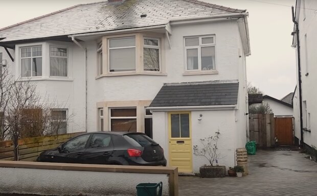 Aus einem unansehnlichen Haus ist das schickste Haus des Landes geworden. Quelle: Screenshot YouTube