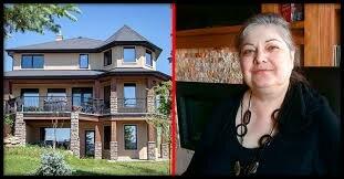 Warum verkauft eine Frau ihr schickes dreistöckiges Haus für einen Aufsatz