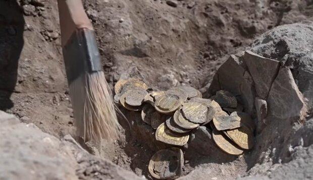 Archäologische Ausgrabungen. Quelle: YouTube Screenshot