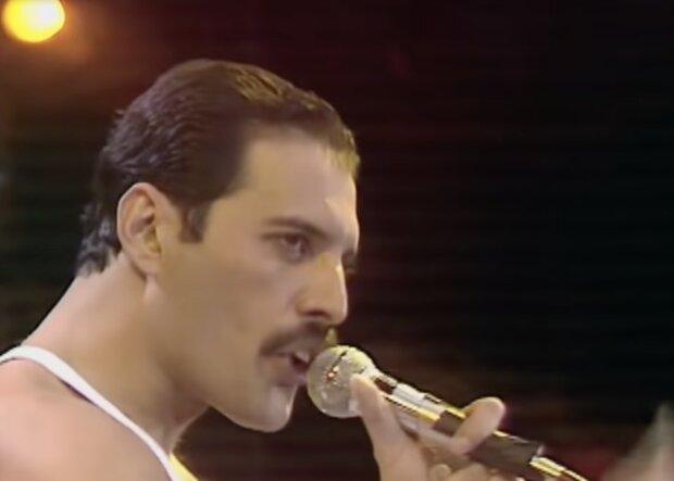 Freddie Mercury. Quelle: Screenshot YouTube