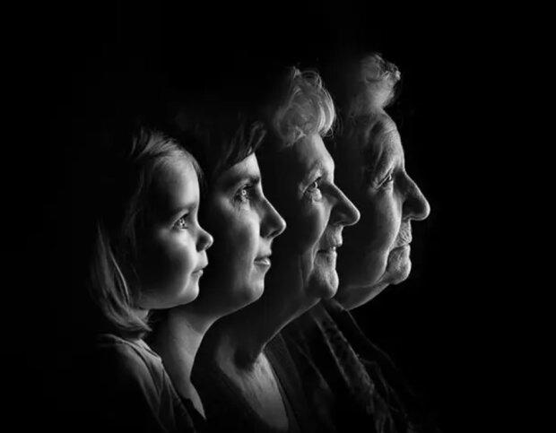 Verbindung der Zeiten: Familien, in denen Enkelkinder schon eigene Kinder haben