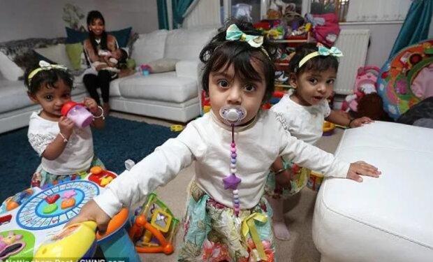 Die Ärzte sagten, dass eine Frau keine Kinder bekommen kann, aber in neun Monaten ist sie Mutter von vier Kindern geworden