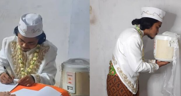 Anam und der Reiskocher. Quelle: YouTube Screenshot