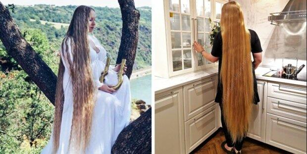 Deutsche Rapunzel, oder warum eine junge Frau 16 Jahre lang keinen Friseur besuchte