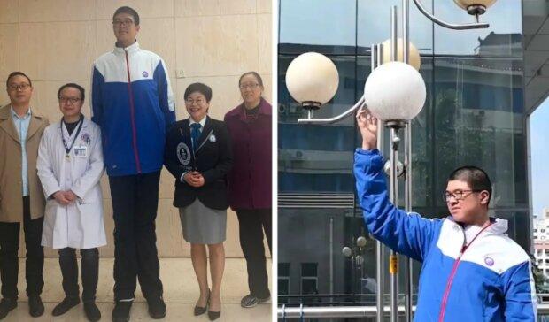 Wie ein 14-Jähriger dank seiner Körpergröße ins Guinness-Buch der Rekorde aufgenommen wurde