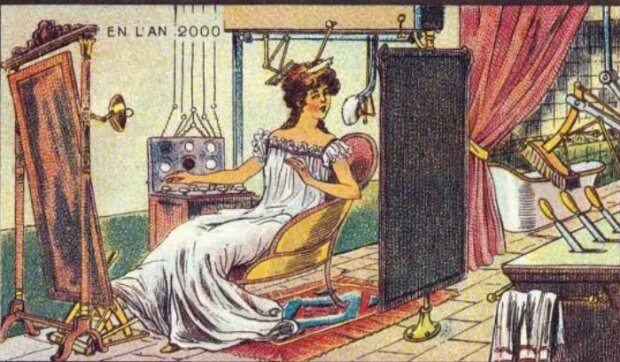 Wie sich die Menschen vor 120 Jahren die Zukunft vorgestellt haben