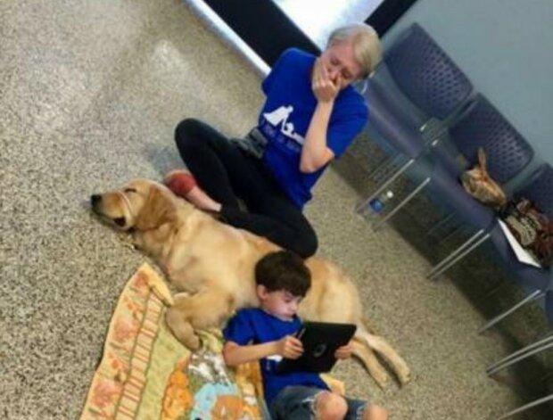 """""""Der Hund kann mehr als nur ein Freund sein"""": Ein besonderer Junge mag keine Berührungen, aber er ist mit dem Hund befreundet"""