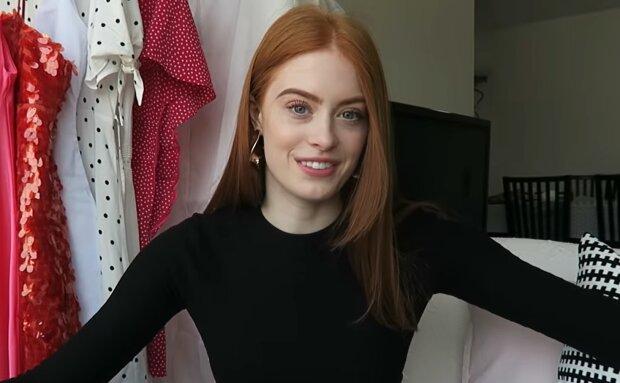Hanna vor dem Abschlussball. Quelle: YouTube Screenshot