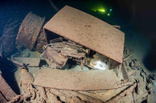 Das Wrack eines Reichsschiffes wurde gefunden: Bernsteinzimmer liegt möglicherweise in 88 Metern Tiefe