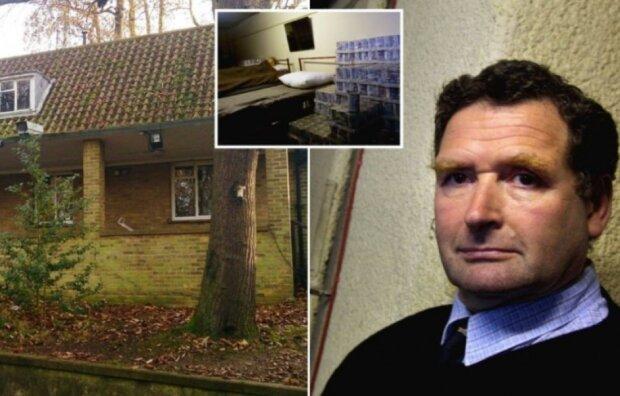 Der Brite hat ein kleines Haus geerbt, unter dem sich ein geheimer Atombunker befindet