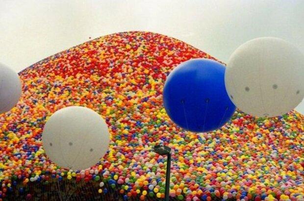 Wie das größte Auflassen von Ballons endete