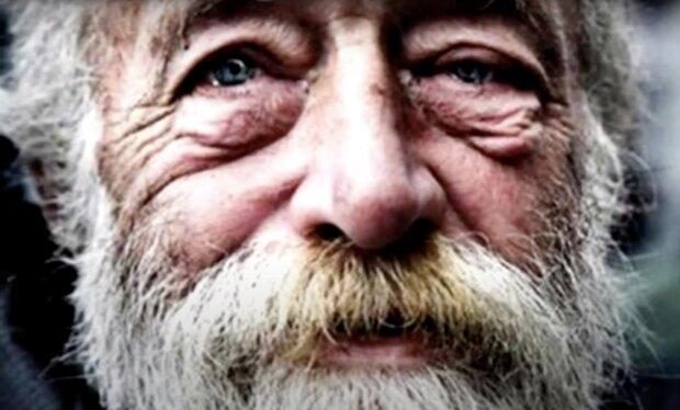 Obdachloser. Quelle: Screenshot YouTube