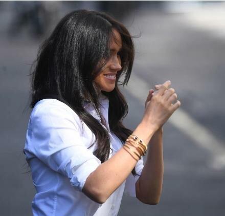 Man nannte den Wert des Schmucks, den Meghan Markle nach Prinzessin Diana trägt