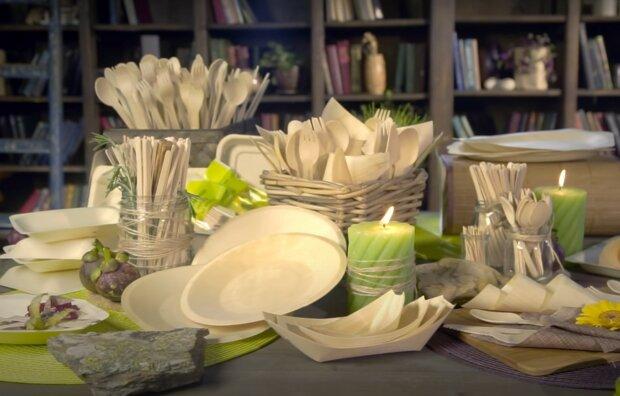 Bequemes Geschirr ohne Umweltschäden