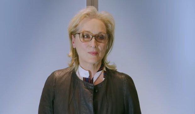 Meryl Streep. Quelle: YouTube Screenshot