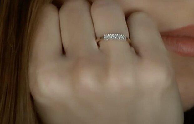 Ein Ring. Quelle: Screenshot YouTube