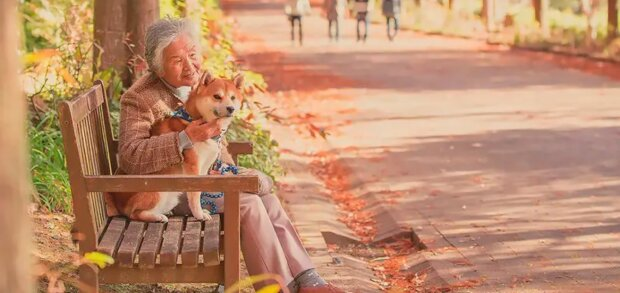 Der Fotograf aus Japan macht rührende Fotos von seiner Großmutter und seinem Hund