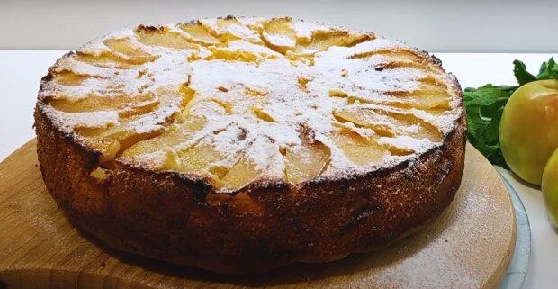 Apfel-Orangen-Kuchen: ein einfaches Rezept