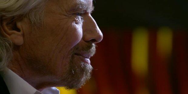Richard Branson. Quelle:Screenshot YouTube