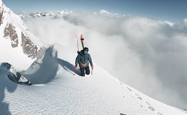 Der Bergsteiger. Quelle: YouTube Screenshot