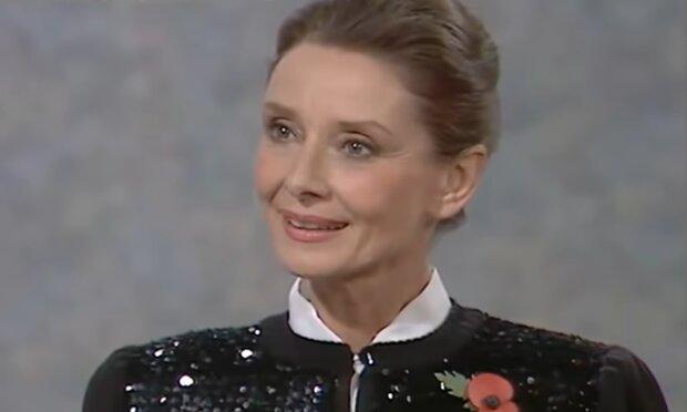 Audrey Hepburn. Quelle: YouTube Screenshot